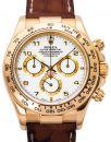 Rolex Daytona 116518, Arabisch, 2004, Sehr Gut, Gehäuse Gelbgold, Band: Leder von Rolex