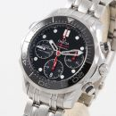 Seamaster Diver 300M Co-Axial 41.5 Chronograph Stainless Steel / Black / Bracelet von Omega