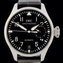 """IWC Big Pilot """"Grosse Fliegeruhr"""" - IW500401 - Edelstahl - Box/Papiere - Jahr: 2008 - Faltschließe - Deutschland - AAW von IWC"""
