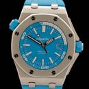 Royal Oak Offshore Diver Stainless Steel / Turquoise von Audemars Piguet