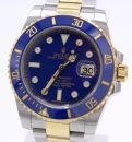 Rolex Submariner Ref.: 116613LB Diamond Dial von 11/2010 Full Set von Rolex