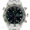 Omega Uhr Seamaster gebraucht Diver Chronograph Edelstahl Ref. 25988000 von Omega