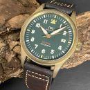 IWC Spitfire Fliegeruhr Bronze an Lederband Ref. IW326802 von IWC