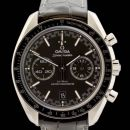 Speedmaster Racing Master Co-Axial Stainless Steel / Black / Alligator von Omega