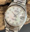 Rolex Oyster Perpetual Datejust 31mm Weißgold Ref. 6827 von Rolex