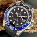 """Rolex GMT-Master II """"BATMAN"""" an Kautschukband Ref. 126710BLNR von Rolex"""