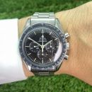 "Speedmaster Moonwatch ""Tropical Dial & DON Bezel"" Stahl von Omega"
