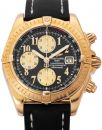 Breitling Chronomat Evolution K13356, Arabisch, 2008, Sehr Gut, Gehäuse Gelbgold, Band: Leder von Breitling
