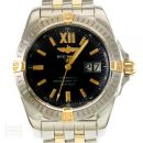 Breitling Uhr Galactic Edelstahl/Gold Automatik Ref. B49350 von Breitling
