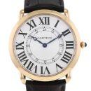 Cartier Ronde Louis Cartier watch in pink gold Ref: 3930 Circa 2010 von Patek Philippe