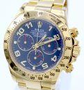 """Rolex Daytona Ref.: 116528 11/2011 blue dial LC100 """"Full Set"""" von Rolex"""