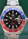 Aquaracer Gmt Pepsi 43mm Auatomatic 2020 Box&Papers von TAG Heuer