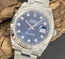 Rolex Oyster Perpetual Datejust 41 Diamant Ref. 126334 von Rolex