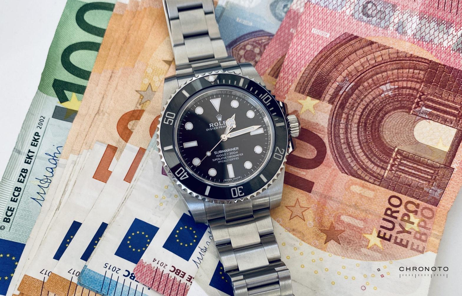 Rolex Submariner Geld
